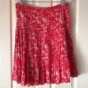 Ann Taylor floral skirt size 12